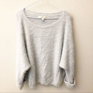 {Lauren Conrad} Runway Oversized Fuzzy Sweater